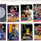 Lot of 8 Upper Deck Basketball Cards