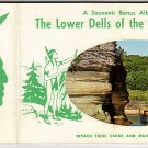 Lower Dells of The Wisconsin River Postcards and Souvenir Album
