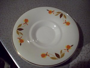 Vintage Superior Hall Quality Dinnerware Saucer