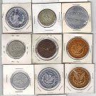 Lot of 13 Different Tokens