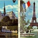 Book of 12 Paris Depliant Couleur Postcards (Unused)