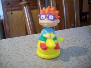 Burger King's Rugrats  Chuckie on a Kangaroo Hopping Chuckie Wind-Up Toy