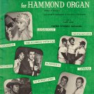 TV Favorites for Hammond Organ