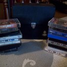 Vintage Tasco Case and 17 Cassette Tapes