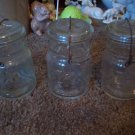 Lot of 3 Vintage Atlas E-Z Seal Pint Jars