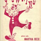 Vintage Sheet Music Clowning