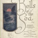 Vintage Sheet Music Bells Of The Sea