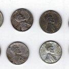 (8) 1943 Steel Wheat Cents (Lot 1)