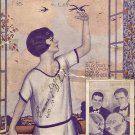 Vintage Sheet Music  Follow The Swallow