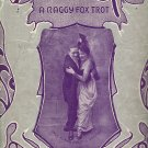 Vintage Sheet Music  Silver Fox A Raggy Fox Trot