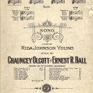 Vintage Sheet Music   Mother Machree