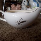 Vintage Royal Joci Gravy Boat with Wheat Pattern