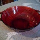 Anchor Hocking Royal Ruby Coronation Bowl