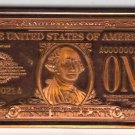 One Troy Ounce 1928 Series One Dollar .999 Fine Copper Art Bar free shipping