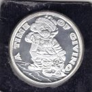 2001 A Time Of Giving One Troy Ounce .999 Fine Silver Round