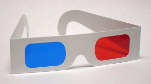 Classic Red/Blue 3D Glasses - Paper Anaglyph