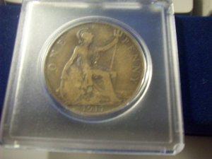 1917 British Penny