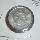 1953 Silver 25 centavos Mexico peso