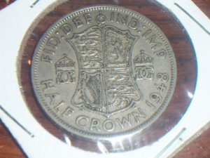 1948 Great Britian Half Crown British pound