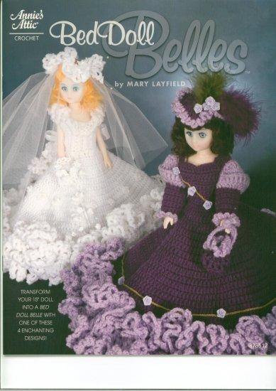 Crochet leaflet - Annies Attic Bed Doll Belles