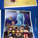 EXCLUSIVE WATCHMEN POSTER-DAVE GIBBONS-USA WEEKEND