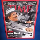 TIME MAGAZINE-BARACK OBAMA -THE NEW NEW DEAL