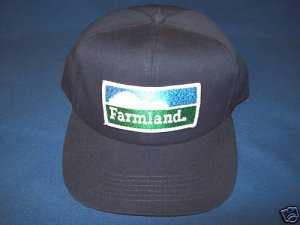 FARMLAND BALL CAP HAT - BLUE - NEW - ONE SIZE