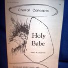 VINTAGE SHEET MUSIC -HOLY BABE - VOICE & PIANO
