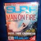 TRANSWORLD SURF MAGAZINE- HURLEY SURF POSTER -2007