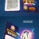 VINTAGE STAR WARS EPISODE II & LAYS CHIPS AD LEAF-R2D2