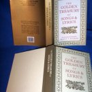 GOLDEN TREASURY OF SONGS & LYRICS, HARDCOVER POETRY
