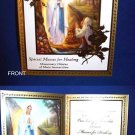 OUR LADY OF LOURDES PRAYER CARD BOOKLET-HEALING MASSES