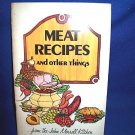JOHN MORRELL KITCHENS 1973 MEAT RECIPE BOOKLET-1ST ED