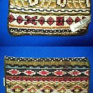 VINTAGE TSO CLOTH NEEDLEPOINT EYE GLASS CASE