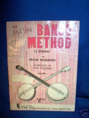 MEL BAY'S BANJO METHOD MUSIC BOOK, VOL 1