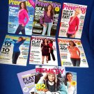 6  PREVENTION HEALTH MAGAZINES +BONUS - 2008 ISSUES
