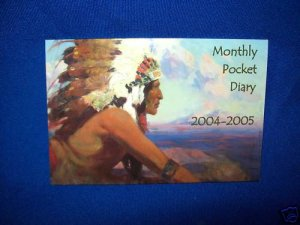 NATIVE AMERICAN CHIEF CALENDAR-FRANK TENNEY JOHNSON ART