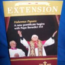 CATHOLIC EXTENSION MAGAZINE-POPE BENEDICT XVI COVER