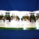 JOHN DEERE TRACTOR FOLD-OUT  ADVERTISING BROCHURE