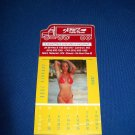 JONEZ TRUCKING TRAVEL CENTER MINI SWIMSUIT MODEL CALENDAR-2009