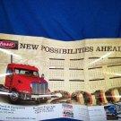 OVERSIZED PETERBILT TRUCK CALENDAR POSTER - 2010