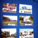 SET OF 6 CAT SCALE SUPER TRUCKS COLLECTOR CARDS - LIMITED EDITION (LOT 10)