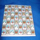 AMERICAN LUNG ASSOCIATION CHRISTMAS STICKER SHEET - 2005