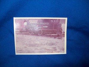 VINTAGE TRAIN PHOTO - COLORADO RAILROAD MUSEUM - LULU BELLE