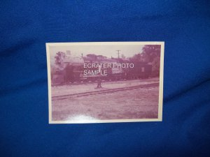 VINTAGE TRAIN ENGINE 5629 PHOTO - COLORADO RAILROAD MUSEUM -