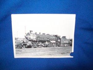VINTAGE TRAIN ENGINE PHOTO - RIO GRANDE WESTERN 3300 - 1945