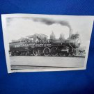 VINTAGE TRAIN ENGINE PHOTO - FRISCO 432 - 1911