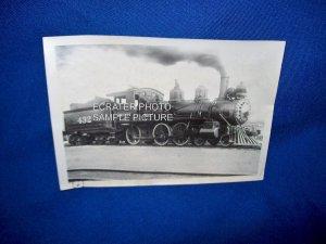 VINTAGE TRAIN ENGINE PHOTO - FRISCO 432 - 1911