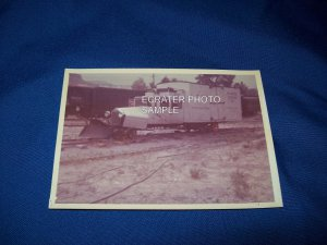 ORIGINAL PHOTO OF TRAIN ENGINE - US MAIL RIO GRAND SOUTHERN LINE