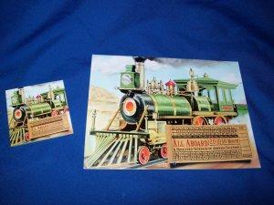 LIMITED EDITION TRAIN TRAIN ENGINE CALENDAR - 2010